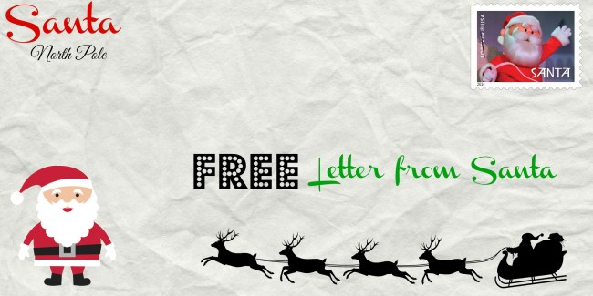 Coupon code for free letters from santa