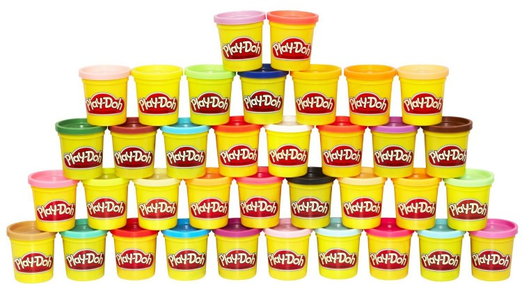 Play Doh 36-Can Mega Pack