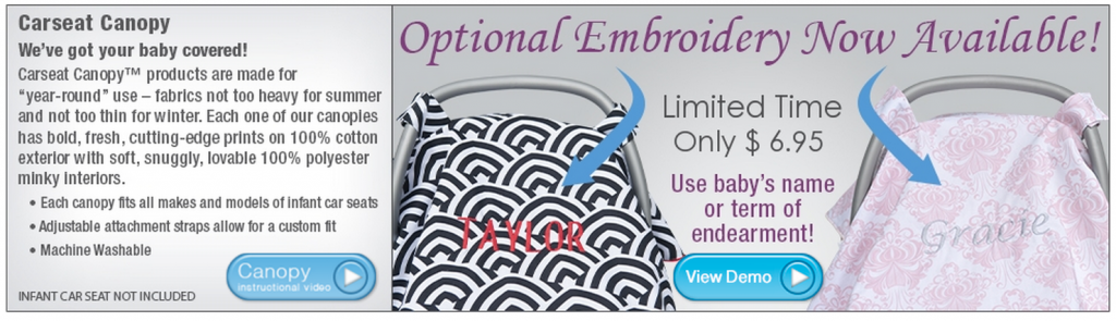 Free Car Seat Canopy Cover ($50 Value)