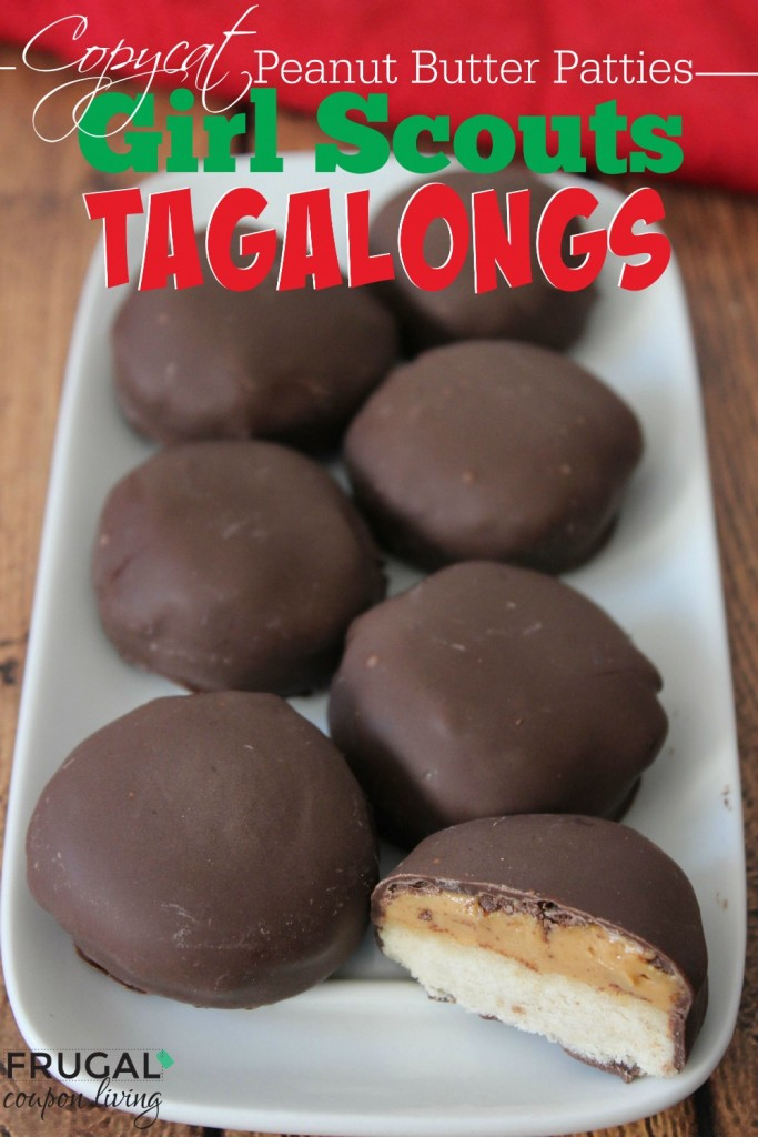 Girl scout cookie tagalong recipe