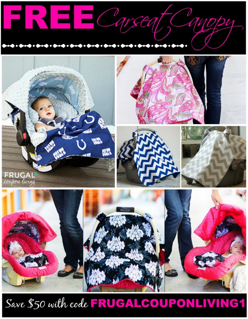 free-carseat-canopy-frugal-coupon-living-Collage  sc 1 st  Frugal Coupon Living & FREE Baby Sling in Adorable Patterns with Code ONE4ME