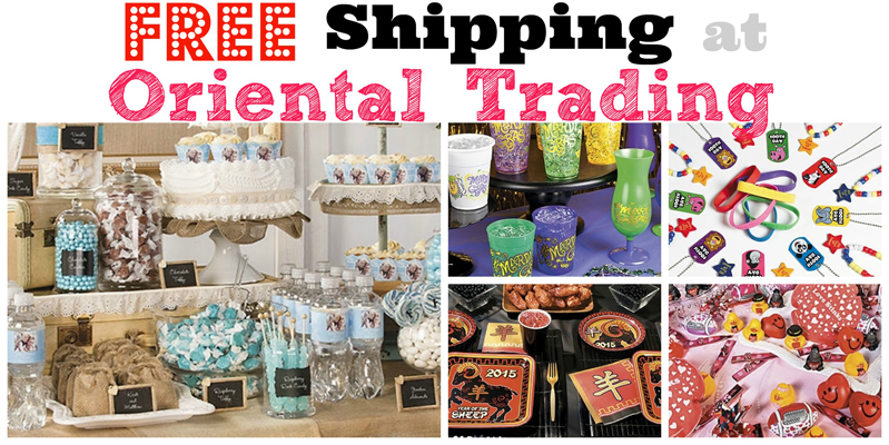 Promo for oriental trading
