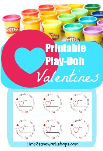 Adaptable image with play doh valentine printable