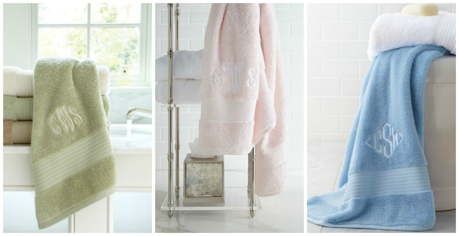 ralph lauren monogrammed towels from  3 50   free shipping