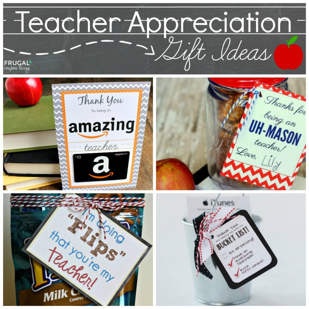 Easy and creative teacher appreciation gift ideas