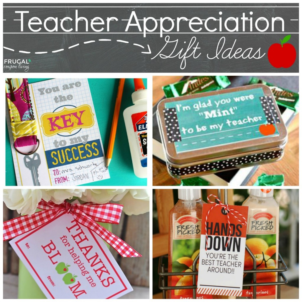 Classroom Recognition Ideas ~ Easy and creative teacher appreciation gift ideas