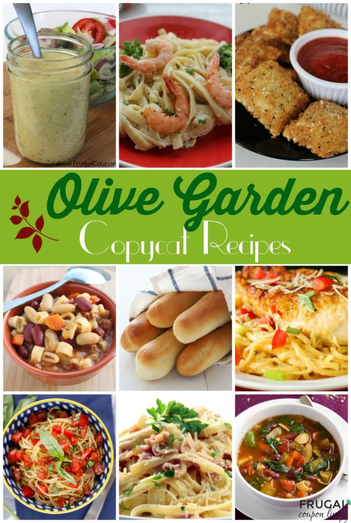 Menu For Olive Garden: Make Your Favorite Meals At Home