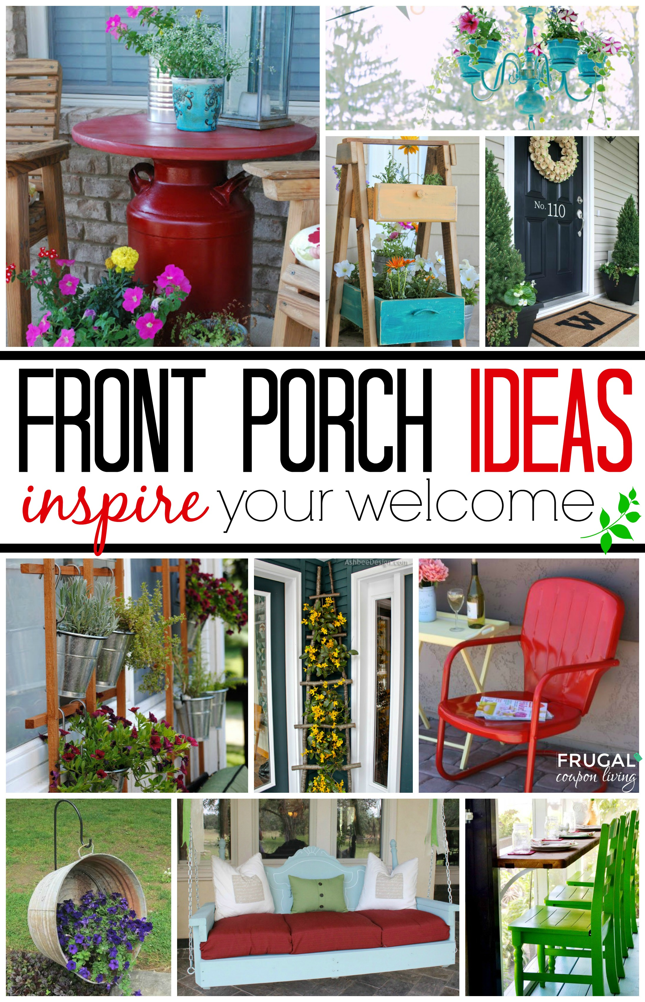 Front Porch Collage Frugal Coupon Living