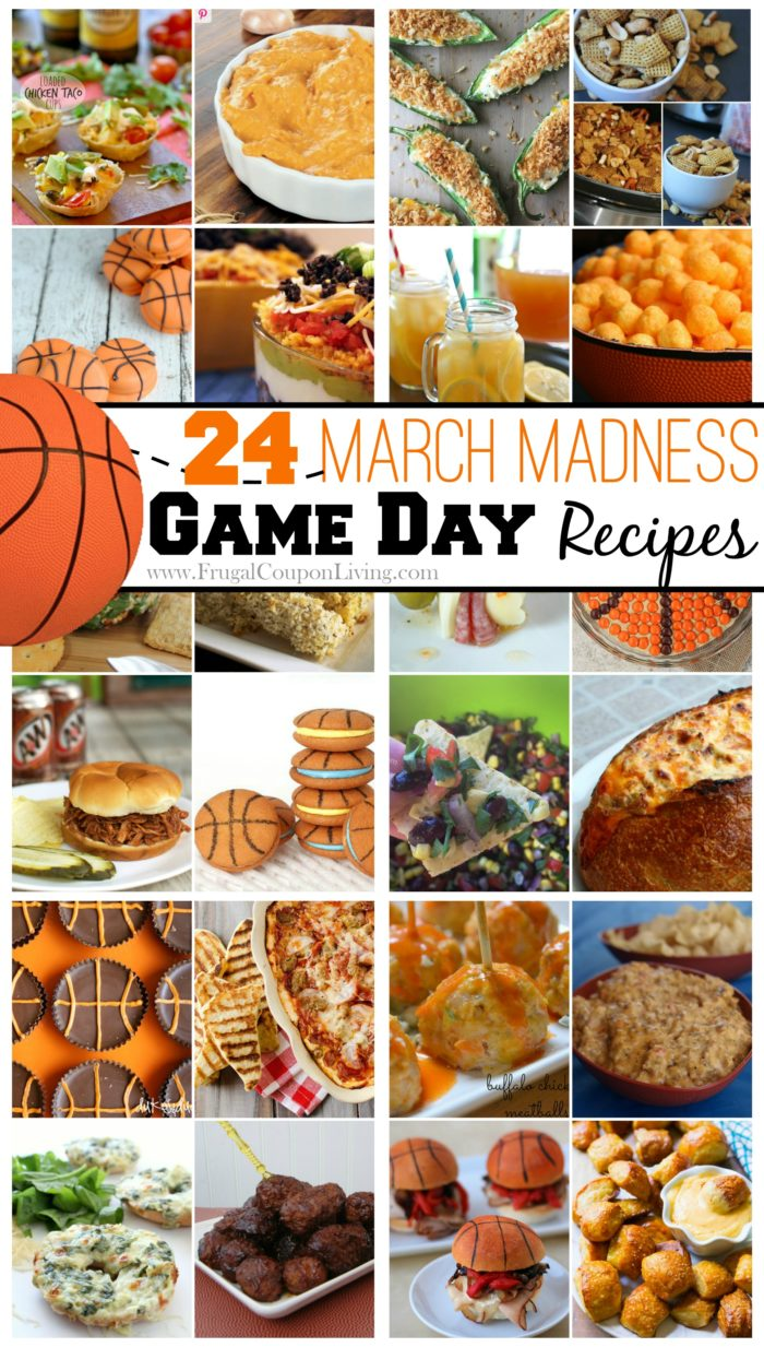 March-Madness-Recipes-Collage