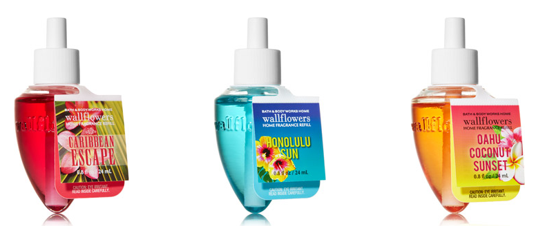 Bath and Body Works Bali Blue Surf Body Fragrance Mist 8 Ounce Full Size Tropical Spray.