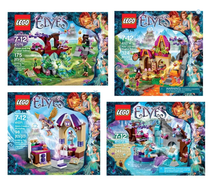 New Lego Elves Sets As Low As 9 99
