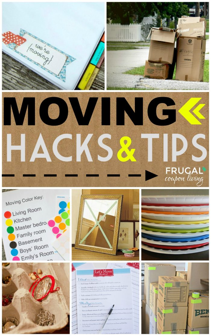 Moving-Tips-and-Hacks-Collage-Frugal-Coupon-LIving