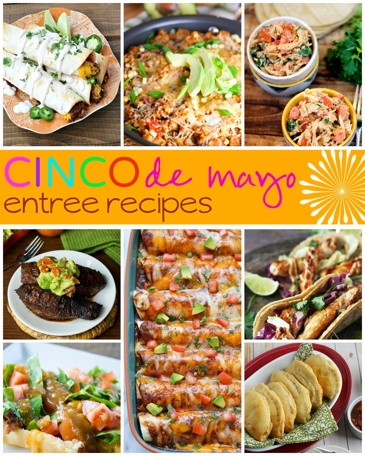 mexican-recipes-side-entree-collage-frugal-coupon-living