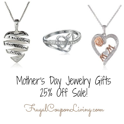 Mother's Day Jewelry Gifts - 25% Off Sale!