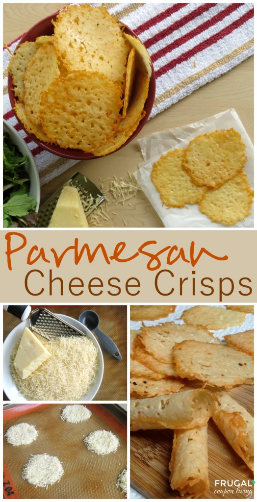Homemade Parmesan Crisps Go Great With Salad