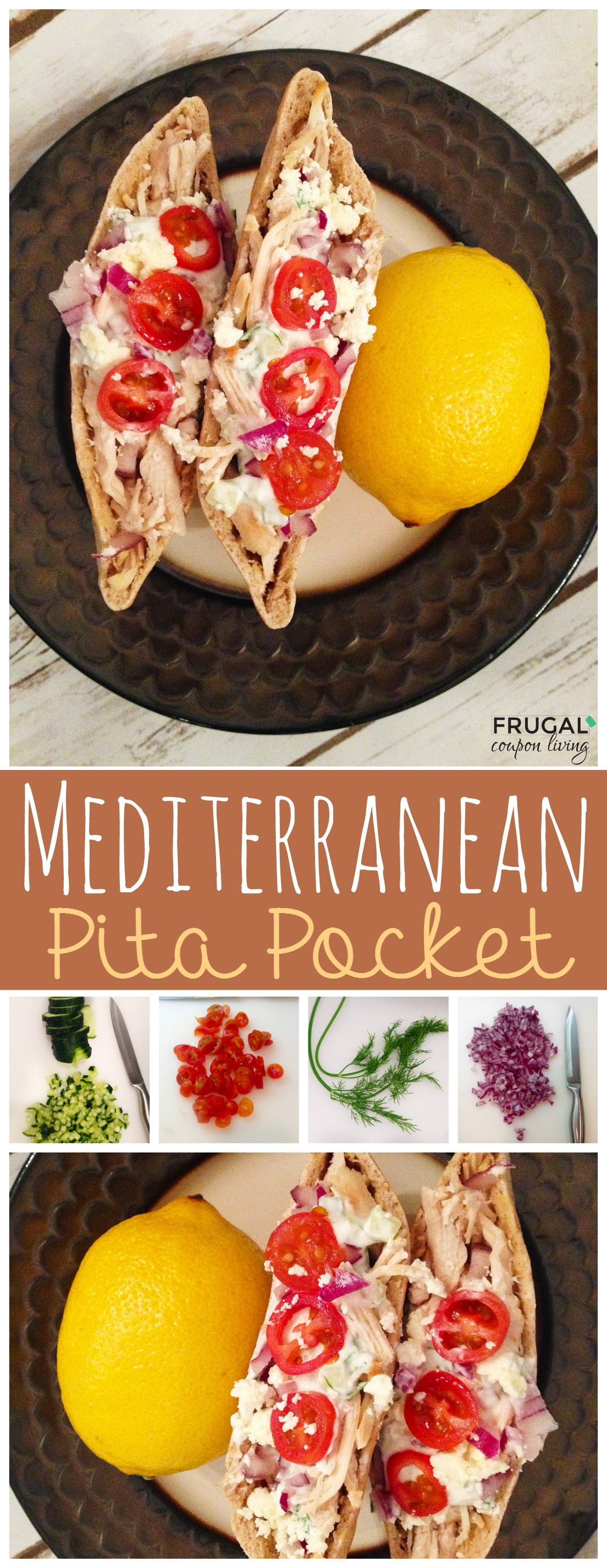organic-chicken-mediterranean-pita-pocket-Collage-frugal-coupon-living