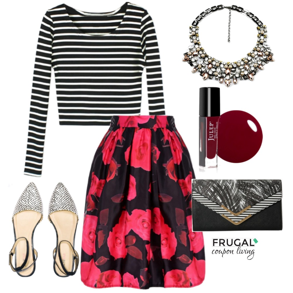 Red-black-outfit-frugal-fashion-friday-frugal-coupon-living