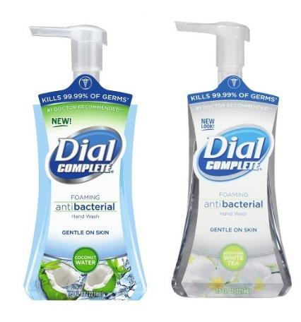 dial foaming soap