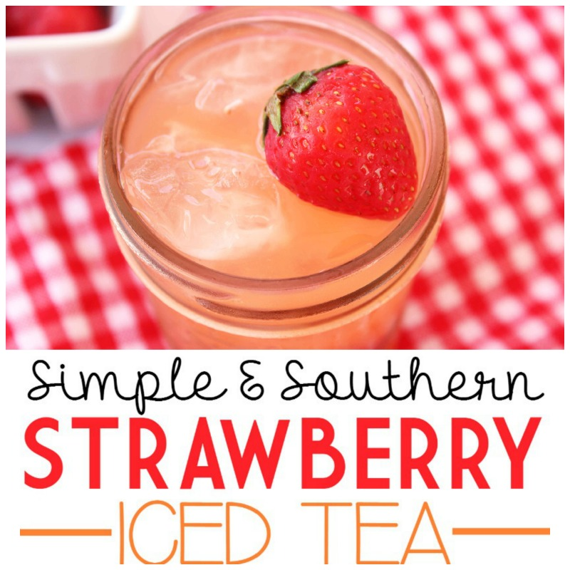 Simple & Southern Strawberry Sweet Tea