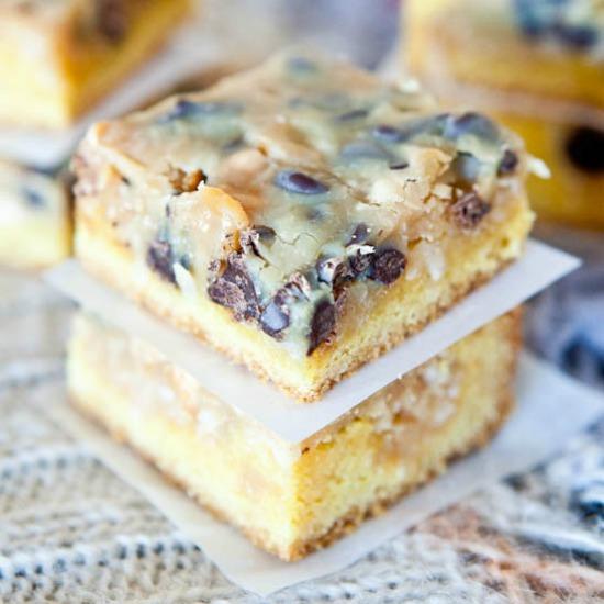 Peanut Butter Magic Cookies Using Cake Mix