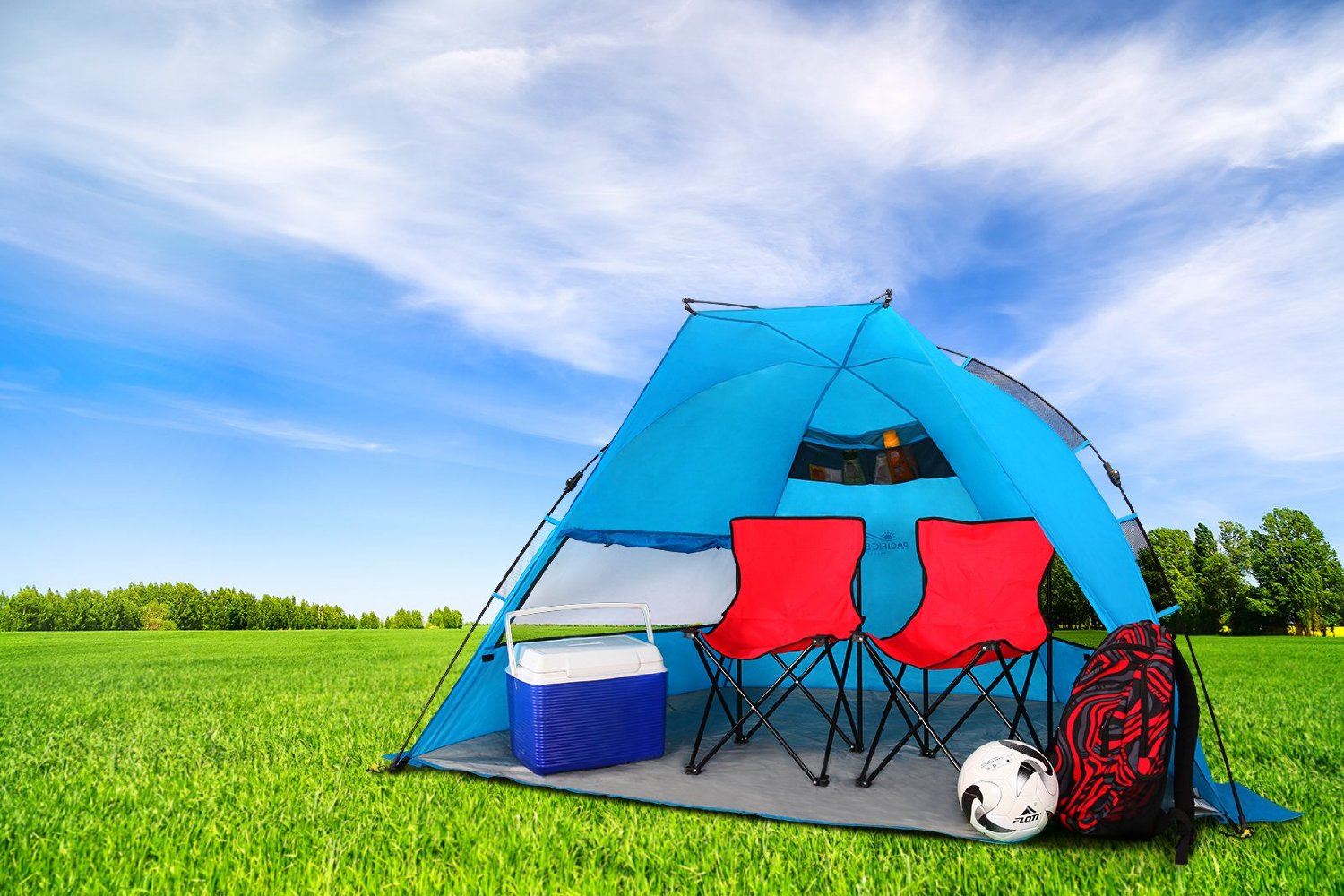Pacific Breeze Easyup Beach Tent Only 59 99 Shipped Reg 145 on 50 Spring Crafts Activities