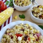 Fresh Corn & Ditalini Salad - Final 3 Frugual Coupon Living small