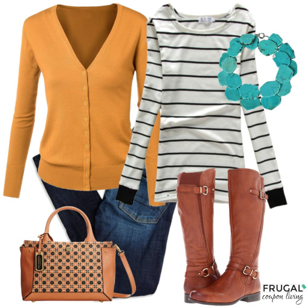 Frugal-Fashion-Friday-Mustard-Fall-Outfit-on-Frugal-Coupon-Living