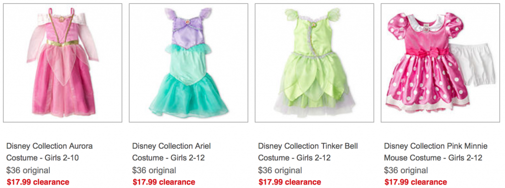 4fe774105880 JCPenney: Disney Costumes & Accessories as low as $5.99!