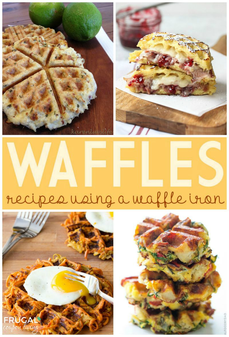 waffles-Collage-4-frugal-coupon-living