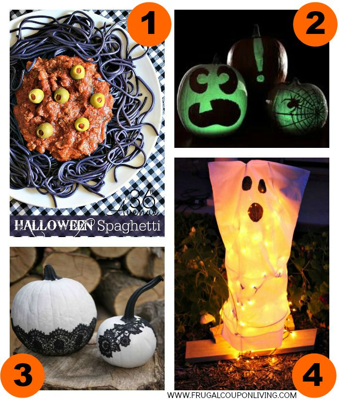 1-Halloween-Hacks-Tips-Collage-Frugal-Coupon-Living