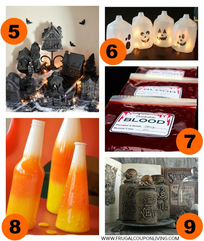 2-Halloween-Hacks-Tips-Collage-Frugal-Coupon-Living