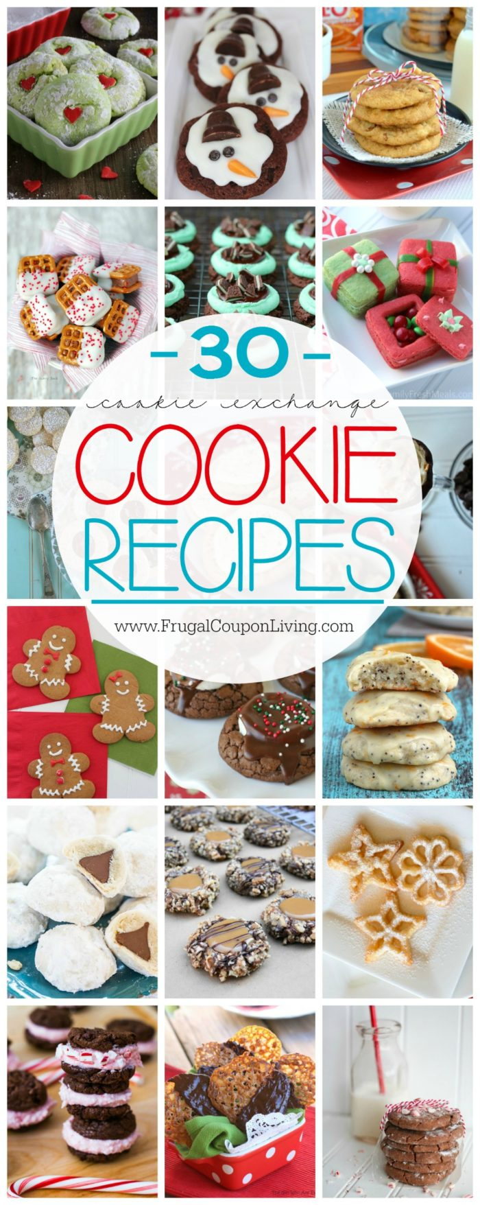 30 Cookie Exchange Cookie Recipes on Frugal Coupon Living