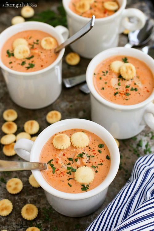 Crab Bisque from A Farm Girl's Dabbles