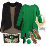 Frugal Fashion Friday Green Fall Outfit Frugal Coupon Living