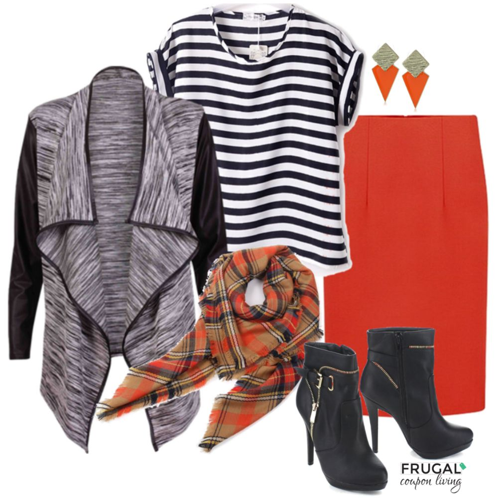 Halloween Inspired Fall Outfit Frugal Coupon Living Frugal Fashion Friday
