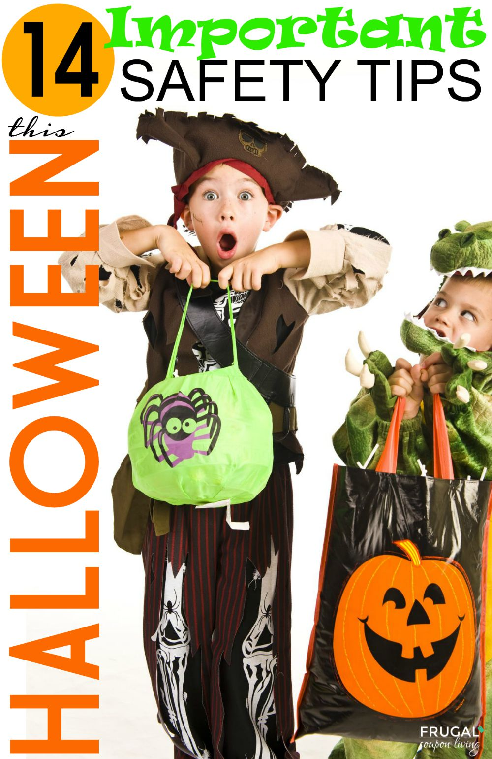 Halloween Safety Tips on Frugal Coupon Living