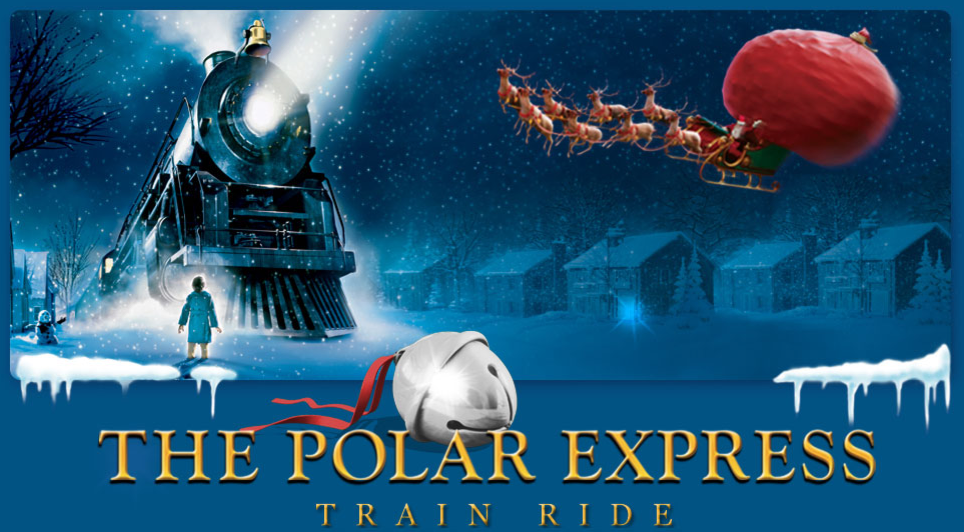 the polar express train ride event locations