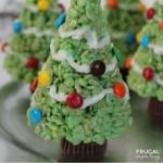 Christmas Tree Rice Krispie Treats on Frugal Coupon Living
