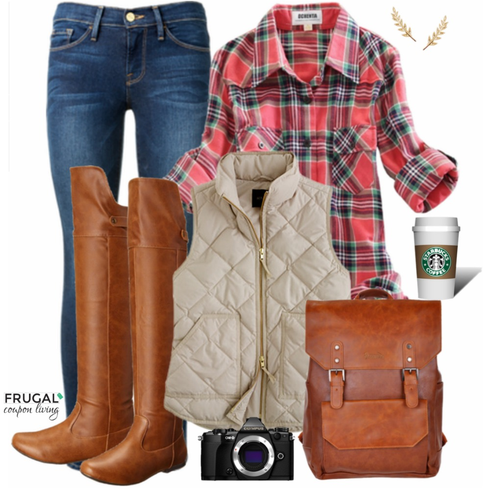 Frugal Fashion Friday Pumpkin Patch Fall Outfit on Frugal Coupon Living