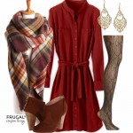 Frugal-Fashion-Friday-Rust-Dress-Thanksgiving-Outift-Frugal-Coupon-Living