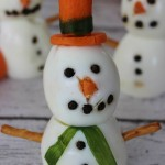 Hard Boiled Egg Snowman on Frugal Coupon LIving