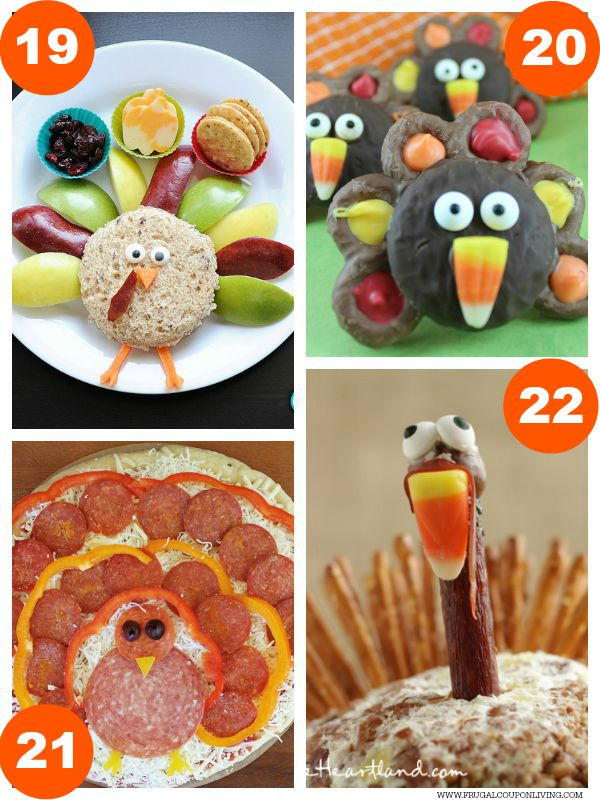 Kid Food Craft Thanksgiving Collage 5