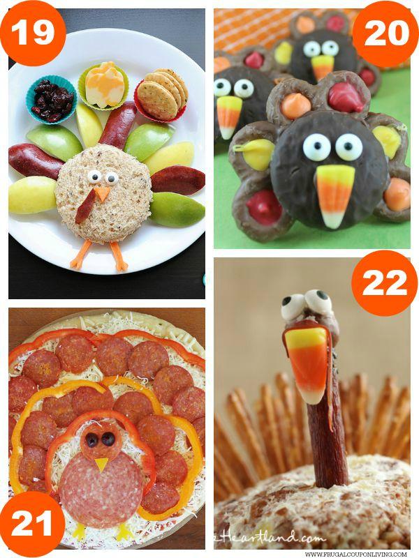 Kid Food Craft Thanksgiving Collage 5