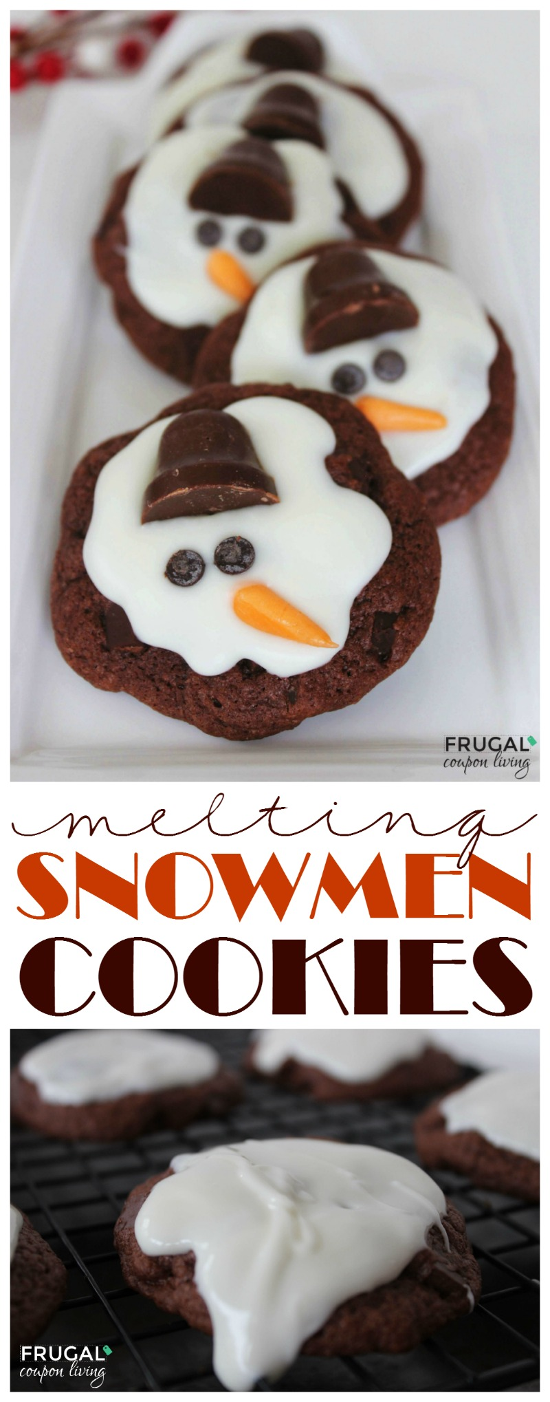 Melting-Snowmen-Cookies-Frugal-Coupon-Living