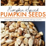 Pumpkin Spiced Pumpkin Seeds on Frugal Coupon Living