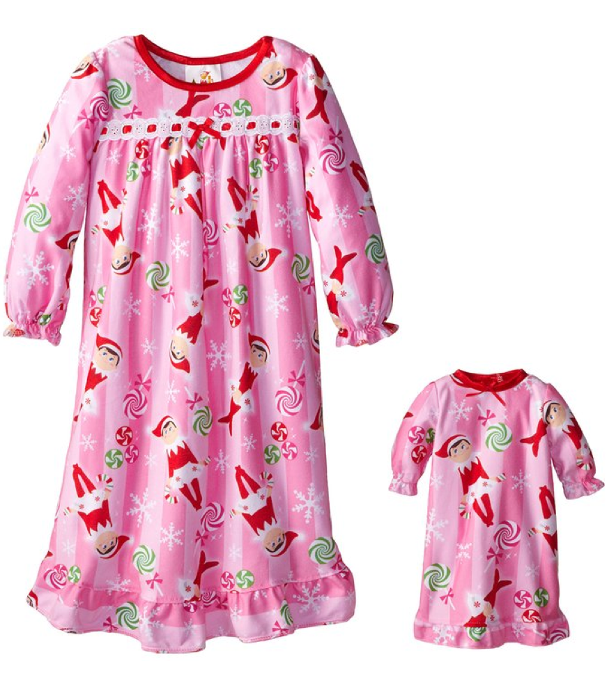 Elf on the Shelf Little Girls\' Nightgown Only $11.99!
