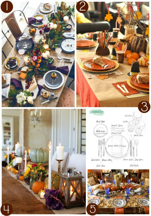 Thanksgiving Tablescape Collage 1 on Frugal Coupon Living