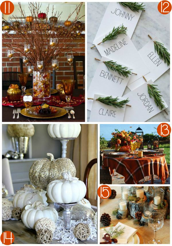 Thanksgiving Tablescape Collage 3 on Frugal Coupon Living