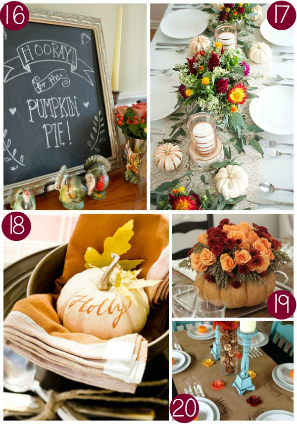 Thanksgiving Tablescape Collage 4 on Frugal Coupon Living