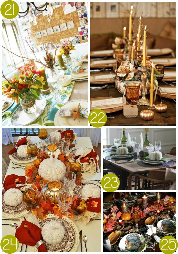 Thanksgiving Tablescape Collage 5 on Frugal Coupon Living